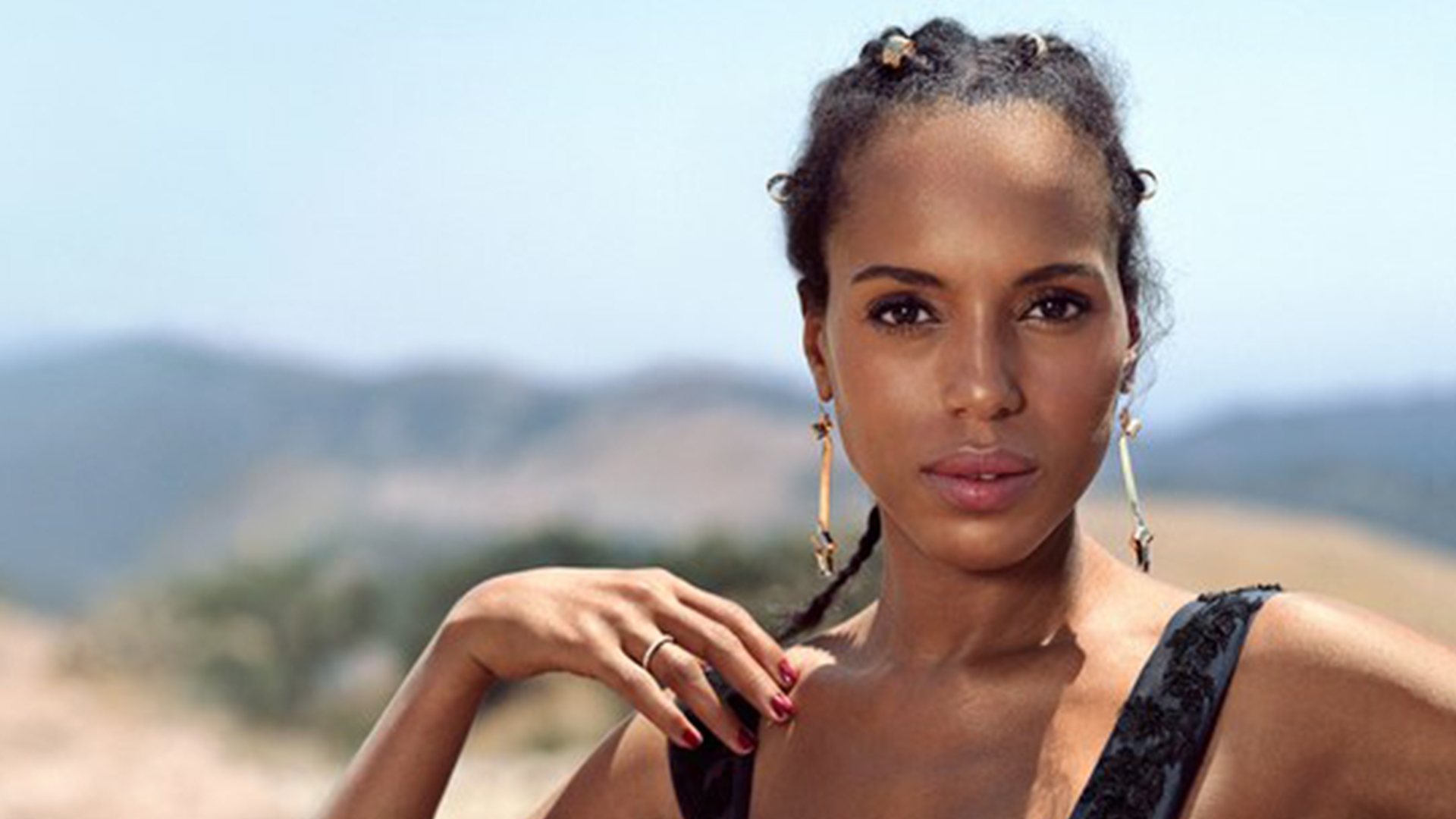 sexy-kerry-washington-cheveux-atttaches-afro-latino